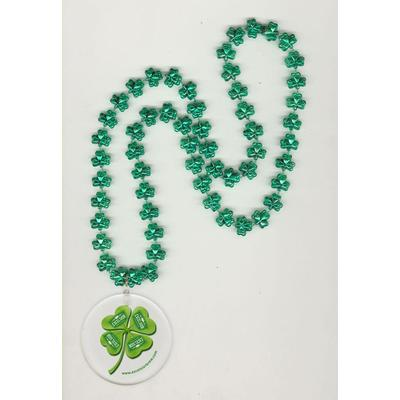 "clover beads (all colors) with attached LED light up disk 2.5"" round"